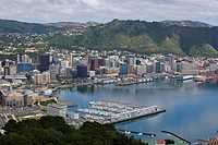 Wellington from Mount Victoria New Zealand