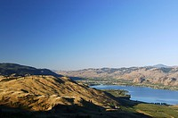 Oroville on Osoyoos lake Washington State USA