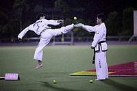Taekwondo exhibition
