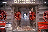 Entrance to saloon in Deadwood, SD