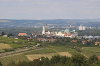 View of the Abbey of Klosterneuburg
