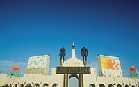Entrance to Los Angeles Memorial Coliseum, Los Angeles, California