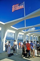 USS Arizona Museum at Pearl Harbor, Oahu, Hawaii