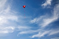 Heart Balloon in a blue sky