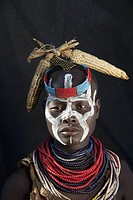 Karo tribe woman