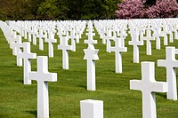 France, Lorraine province, Departement of Vosges 88, Epinal   One of the most important american cemetery in France and in Europe following to the two...