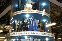 Aparecida Brazil Sao Paulo State Basilica Of The National Shrine Of Our Lady Of Aparecida Gifts That People Give To Our Lady Aparecida As Thanks For M...