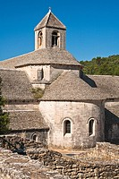 The abbaye de Sénanque in Provence, France, Europe