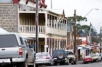 Piper Street scene, Kyneton, Victoria, Australia