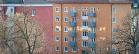 Modern apartment building in Germany
