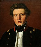 Valdemar Hjartvar Købke 1813-1893, the Artist's Brother, ca  1838, by Christen Købke Danish, 1810-1848, Oil on canvas, 21 1/8 x 18 1/4 in  53 7 x 46 4...