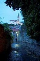 St. George Church. Piran, Slovenia
