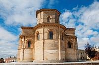 Apses of San Martín church. Frómista, Palencia province, Castilla León, Spain.