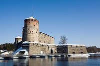 Olavinlinna castle in Savonlinna Finland Europe