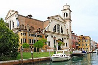 Church of San Trovaso, Dorsoduro, Venice, Italy