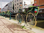 Bicycle in Gent, Belgium