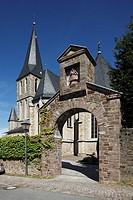 Germany, Hennef Sieg, Sieg, Sieg valley, nature reserve Bergisches Land, Westerwald, North Rhine-Westphalia, D-Hennef-Boedingen, Altenboedingen, monas...