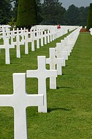 American Cemetery of D-Day, Colleville-sur-mer, Basse Normandie, France