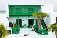 Traditional restaurant, Masdache, Lanzarote, Las Palmas, Canary Islands, Spain