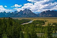 Tetons from Snake River Overlook, Grand Teton National Park
