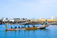Senegal _ Saint_Louis _ Langue de Barbarie _ Guet N´Dar _ Fishermen´s village