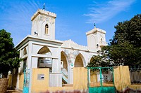 Senegal _ Saint_Louis _ North island district _ The Great Mosque