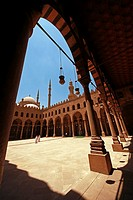 The Mosque of Al-Nasir Muhammad ibn Qala'un at the Citadel in Cairo, Egypt