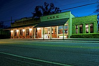 Main Street at Night - Chappell Hill, Texas