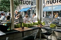 SIDEWALK CAFE_RESTAURANT ´STOUT´, AMSTERDAM, NETHERLANDS