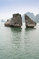 Ha Long Bay, Ga Choi  Fighting Cock  Islet, Vietnam, World Natural Heritage