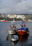 trawlers in Camarinas - Costa da Morte - Galicia - Spain