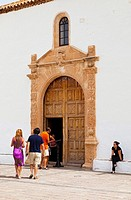Church of Santa Maria, Betancuria, Fuerteventura, Las Palmas, Canary Islands, Spain