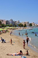 Nea Chora beach, Chania, Crete island, Greece