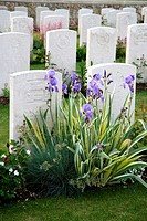 France, Champagne-Ardenne, Marne 51, Chambrecy - English cimetery of soldiers from the First World War