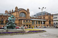 Central Train Station, Grunthalplatz, Schwerin, Germany
