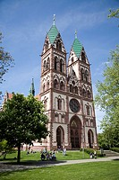 Herz Jesu Church, Freiburg, Germany
