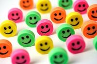 Smiling erasers