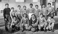 squadra di calcio, casorezzo, lombardia, anni ´40_´50