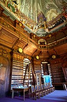 The Archdiocesan Library Eger in Lyceum, built by Count Karoly Eszterhazy with the ceiling fresco... (thumbnail)