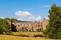 Muncaster Castle Tourist attraction in Cumbria , England , Great britain , Uk
