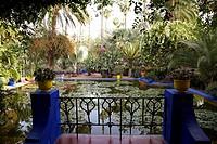 Jardin Majorelle, Marrakech, Morocco.