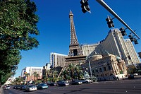 USA, Las Vegas, Paris Paris casino and Hotel                                                                                                          ...