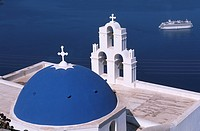 Cyclades, Greece, Santorini                                                                                                                           ...