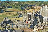 Peru, Cuzco, Stroghold Inca ...