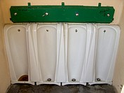 view of public urinal