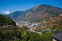 Escaldes and Andorra la Vella  ANDORRA.