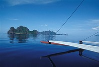 Philippines, Palawan. El nido bay. The archipelago