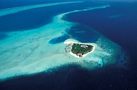 Maldives islands. Gangehi island resort