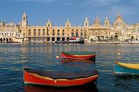 Malta, Valetta harbour