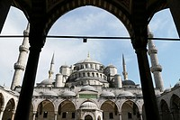 TURKEY. The Blue Mosque, Istanbul